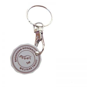 Keyring with Trolley Token